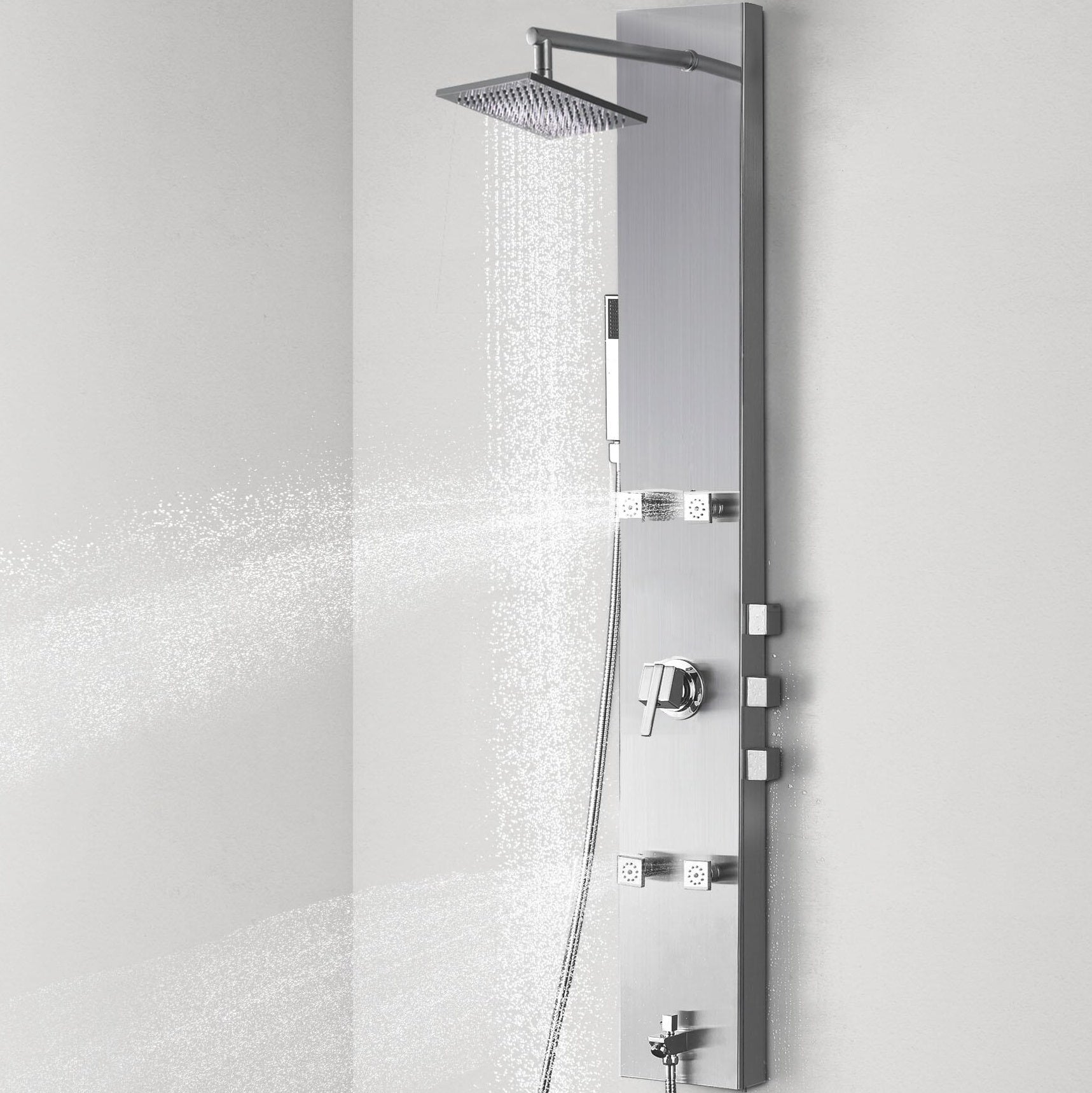 http://www.amazon.com/Vantory-VS056-1-Stainless-Rainfall-Handheld/dp/B01EZJH72K/ref=sr_1_1?ie=UTF8&keywords=shower+panel
