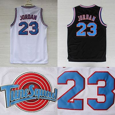 Michael Jordan Space Jam No.23 Basketball Jersey Tune Squad size S - 2XL