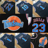 Space Jam Basketball Jersey Tune Squad LOONEY TOONES Jersey BLACK *FREE SHIPPING*