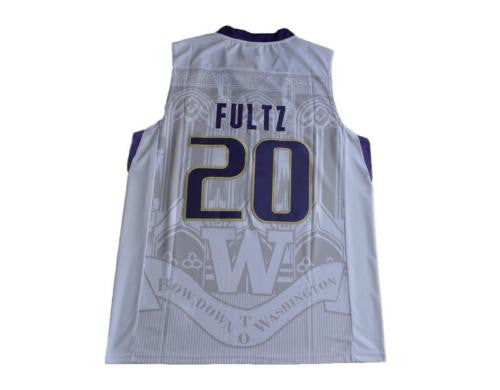 New Washington Huskies #20 Markelle Fultz White Men's Basketball Jersey S - XXL