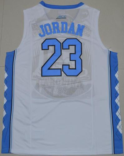 New North Carolina Tar Heels #23 Michael Jordan White Basketball Jersey S - XXL