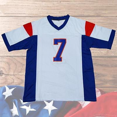 Alex Moran #7 Blue Mountain State American Football Jersey Movie Stitched White