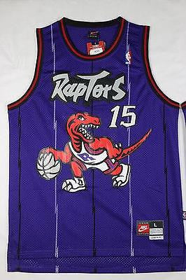 Vince Carter Toronto Raptors #15 Basketball Jersey Purple S - 2XL All Stitched