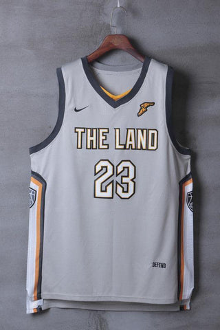 NWT Swingman Jersey #23 LeBron James Cleveland Cavaliers THE CITY Men stitched