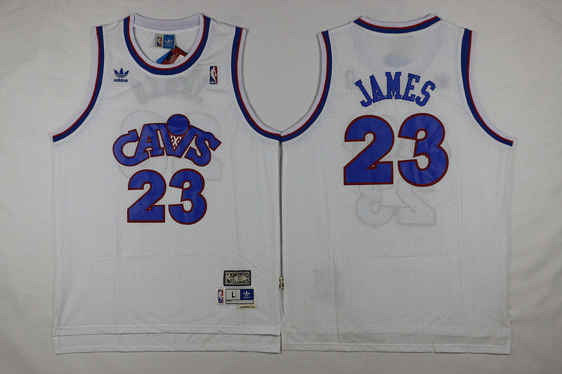 Cleveland Cavaliers #23 Lebron James Basketball White Jersey S-XXL