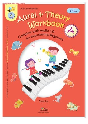 Aural and Theory Workbook A - Anna Lu - Music Bumblebees /CD