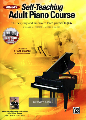Alfred's Self-Teaching Adult Piano Course - The new, easy and fun way to teach yourself to play - Morton Manus|Willard A. Palmer - Piano Alfred Music / Online Audio