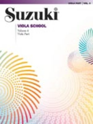Suzuki Viola School Viola Part, Volume 4 - Viola Summy Birchard