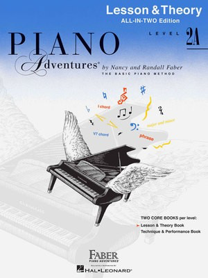 Piano Adventures All-In-Two Level 2A - Lesson & Theory Book - Nancy Faber|Randall Faber - Piano Faber Piano Adventures