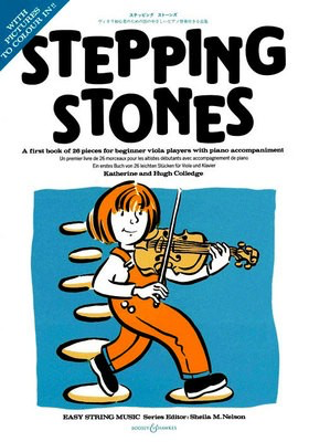 Stepping Stones - Viola Part - Hugh Colledge|Katherine Colledge - Viola Boosey & Hawkes