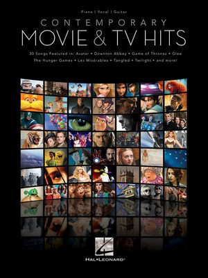 Contemporary Movie & TV Hits - Various - Hal Leonard Piano, Vocal & Guitar - Adlib Music