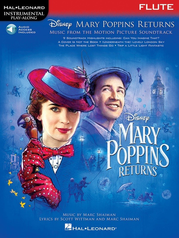 Mary Poppins returns - Flute - Online Audio - Hal Leonard