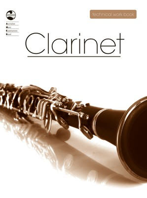 Clarinet Technical Work Book - 2008 edition - Clarinet AMEB - Adlib Music
