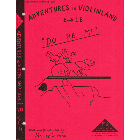 Adventures in Violinland Book 1B - Violin by Givens SS1B
