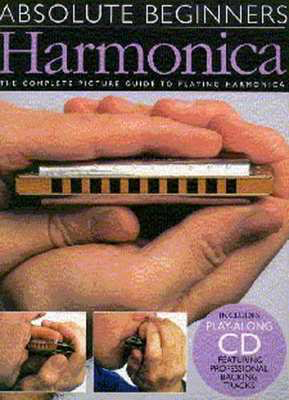 Absolute Beginners Harmonica Bk/Cd - Harmonica Wise Publications