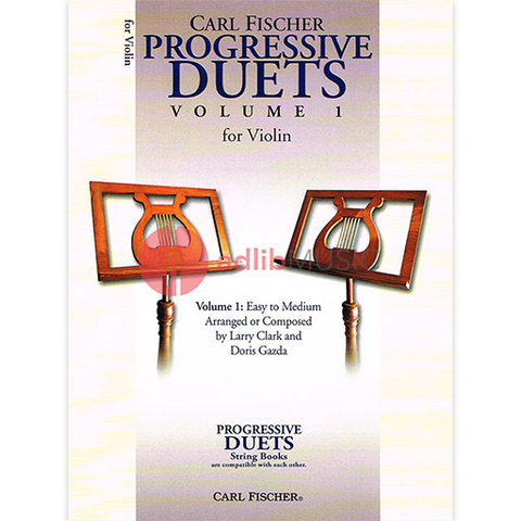 Progressive Duets Volume 1 for Violin - Easy to Medium - Various - Carl Fischer