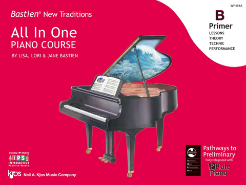 New Traditions All-in-One Primer B - Bastien Kjos Music Company