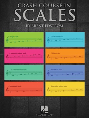 Crash Course in Scales - Piano Brent Edstrom Hal Leonard