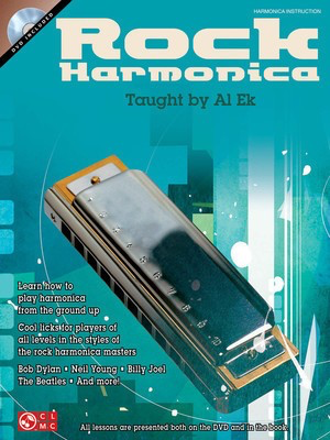 Rock Harmonica - Harmonica Al Ek Cherry Lane Music /DVD