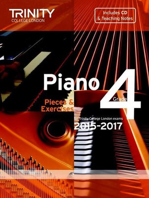 Piano Pieces & Exercises - Grade 4 with CD - for Trinity College London exams 2015-2017 - Piano Trinity College London /CD