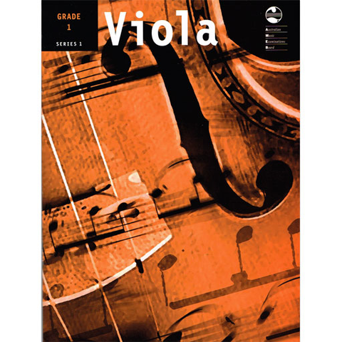 AMEB Series 1 Grade 1 - Viola/Piano Accompaniment 1202071739