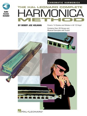The Hal Leonard Complete Harmonica Method - Chromatic Harmonica - Bobby Joe Holman - Harmonica Hal Leonard /CD