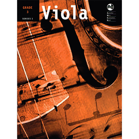 AMEB Series 1 Grade 3 - Viola/Piano Accompaniment 1202071939