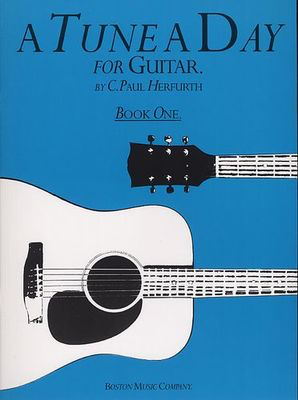 A Tune A Day Book 1 Guitar - Guitar Boston Music