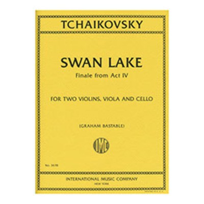 Swan Lake, Finale from Act IV - for String Quartet - Peter Ilyich Tchaikovsky - Viola|Cello|Violin IMC String Quartet