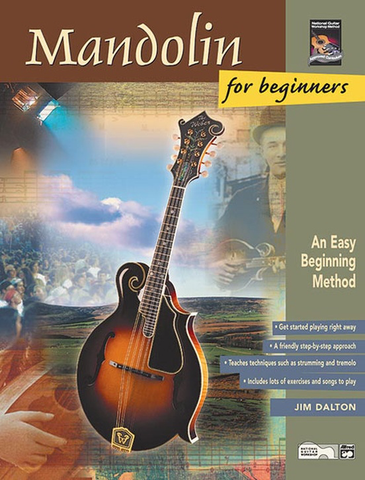 MANDOLIN FOR BEGINNERS - BOOK/CD - DALTON - Alfred Music