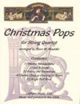 Christmas Pops Arr Mauldin String Quartet Parts -