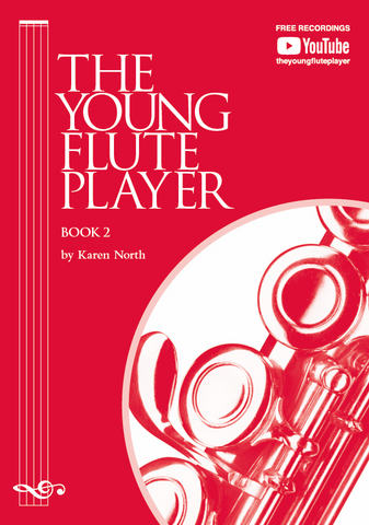 The Young Flute Player Book 2 - Student Book - Karen North - Flute Allegro