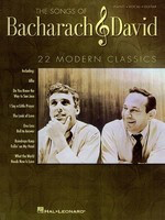 Songs of Bacharach & David - Piano/Vocal/Guitar PVG Hal Leonard 313112
