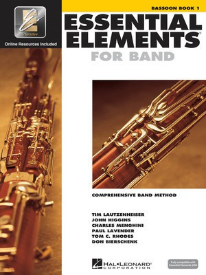 Essential Elements for Band - Book 1 with EEi - Bassoon - Bassoon Charles Menghini|Donald Bierschenk|John Higgins|Paul Lavender|Tim Lautzenheiser|Tom C. Rhodes Hal Leonard /CD-ROM - Adlib Music
