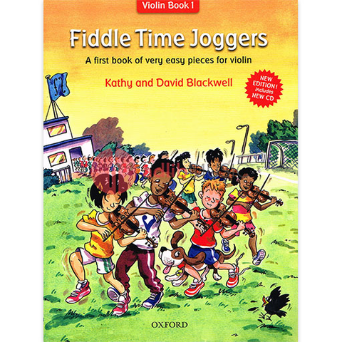 Fiddle Time Joggers Book & CD - A first book of very easy pieces for violin - David & Kathy Blackwell