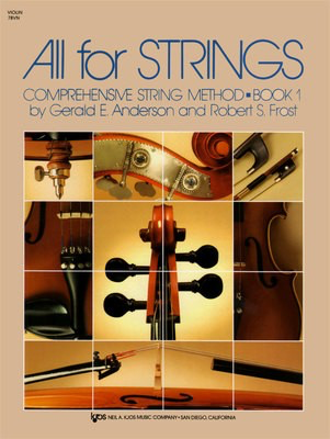 All For Strings Book 1 Violin - Gerald Anderson|Robert Frost - Violin Neil A. Kjos Music Company