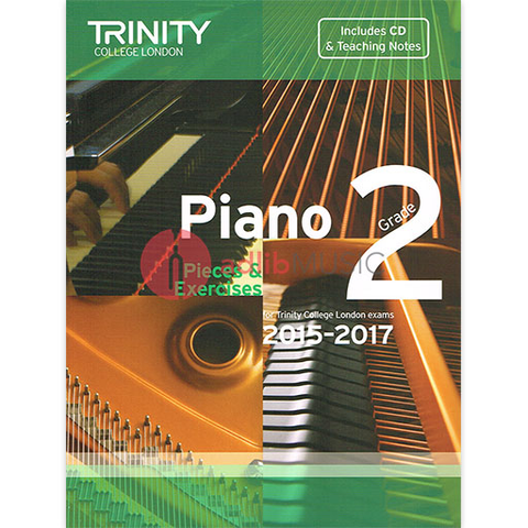 Trinity Piano Exam Pieces 2015-17 Grade 2 Bk/Cd - Trinity