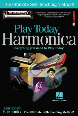 Play Harmonica Today! Complete Kit - Includes Everything You Need to Play Today! - Harmonica Various Hal Leonard /DVD