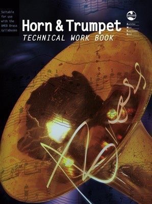 Horn and Trumpet Technical Work Book - French Horn|Trumpet AMEB - Adlib Music