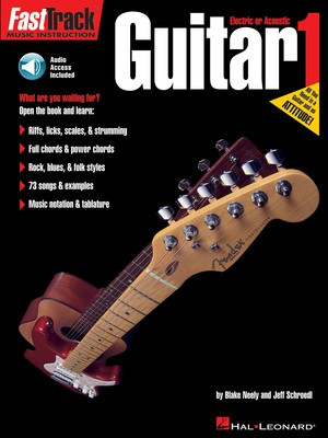 FastTrack Guitar Method - Book 1 - Guitar Coloratura Soprano|Soprano Blake Neely|Jeff Schroedl Hal Leonard /CD - Adlib Music