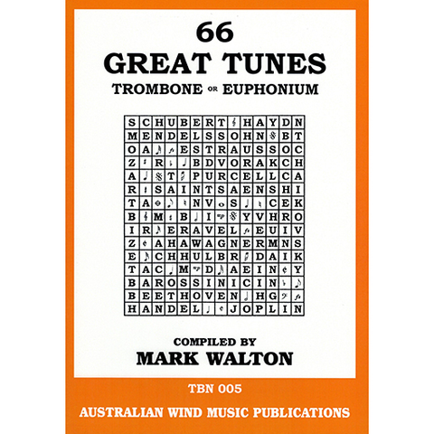 66 Great Tunes For Trombone And Euphonium - Australian Wind Music Publications/CD