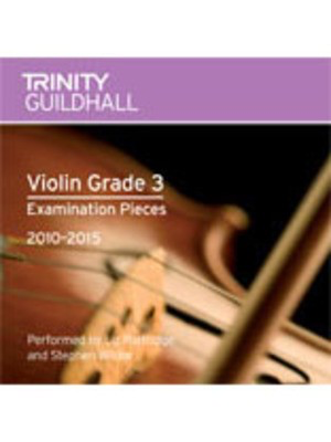 Violin Exam Pieces Gr 3 Cd 2010 - 2015 -