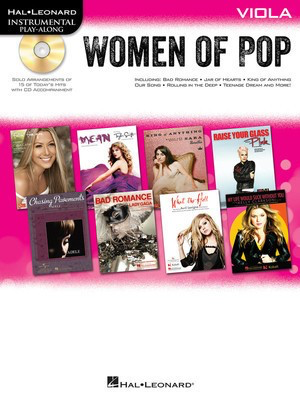 Women of Pop - Viola - Viola Hal Leonard /CD