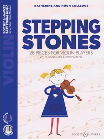 Stepping Stones - 26 Pieces for Violin Players with Piano Accompaniment - Colledge - Boosey & Hawkes