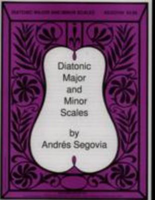 Segovia - Diatonic Major & Minor Scales - Classical Guitar Columbia Music Company 494-00195