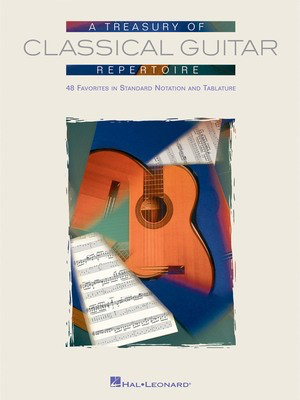 A Treasury of Classical Guitar Repertoire - Various - Classical Guitar - Hal Leonard Guitar TAB