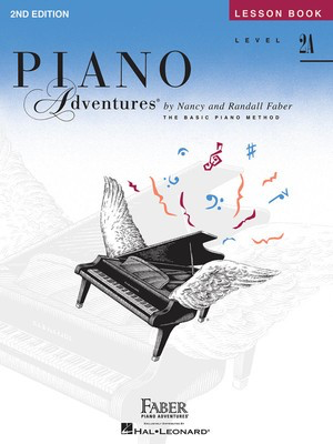 Piano Adventures Level 2A - Lesson Book - Book/CD 2nd Edition