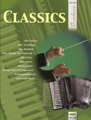 CLASSICS FOR PIANO ACCORDION SOLO - ACCORDIAN - HOLZSCHUH