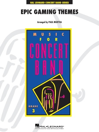 Epic Gaming Themes Arr. Paul Murtha - Concert Band - Hal Leonard