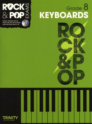 Rock & Pop Exams: Keyboards - Grade 8 - Book with CD - Keyboard|Piano Trinity College London /CD